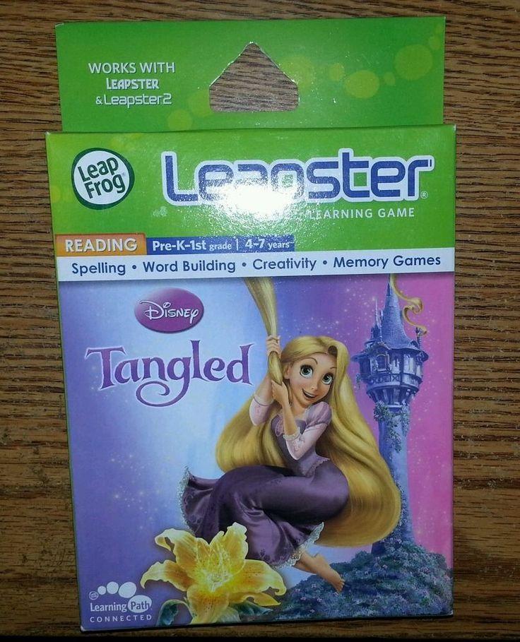 Tangled Leapfrog learning game rapunzel for leapster and leapster 2 - BRAND NEW #LeapFrog