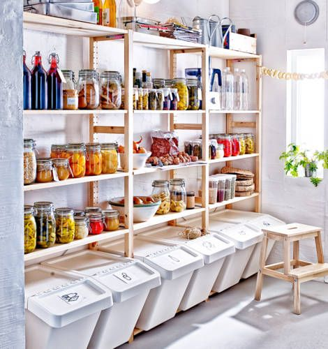 What a glorious pantry! #IKEAcataLOVE IKEA Catalog 2015