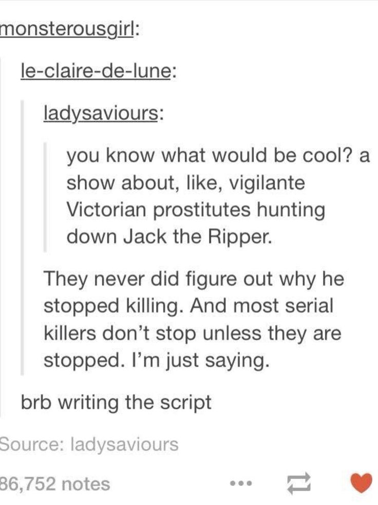 writing prompt: plot bunnies!