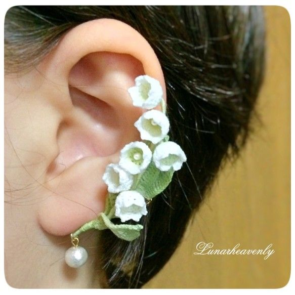 Люблю кружевные манжеты уха вязальной|уха манжеты|силы продаж и продаж Creema