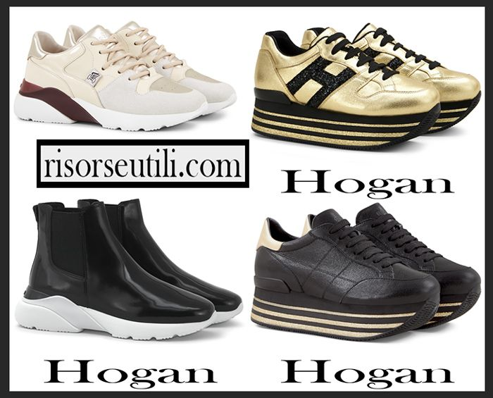 Sneakers Hogan 2018 2019 Womens New Arrivals Fall Winter Shoes