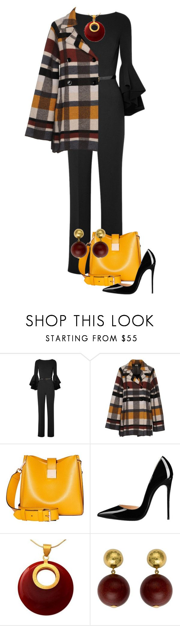 """""""Outfit Only Jumpsuit"""" by shamrockclover ❤ liked on Polyvore featuring Michael Kors, SIYU, Modalu, NOVICA, Tiffany & Co. and jumpsuits"""