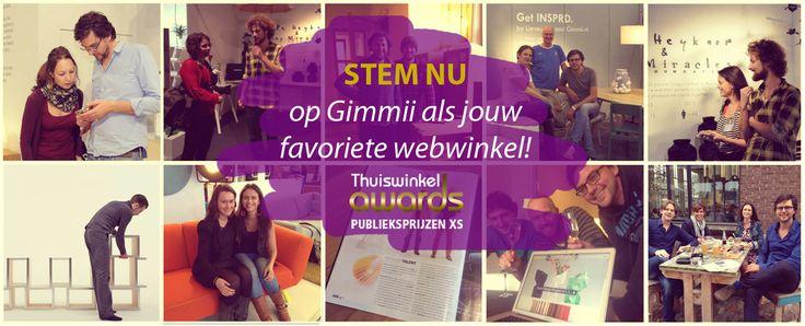 Hippe, Nederlandstalige, toegankelijke site met leuke interieurgadgets, woonwinkels en grappige nieuwe producten. http://www.gimmii.nl