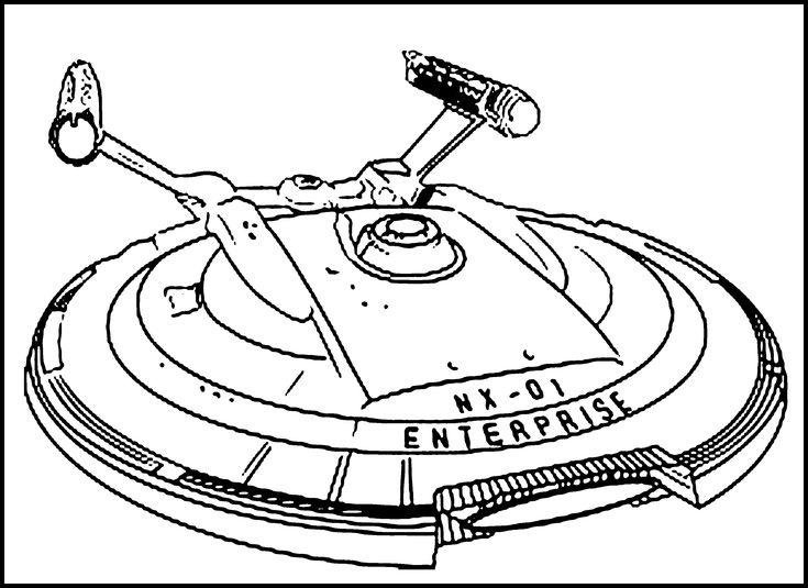 the uss starship enterprise from star trek coloring pages for kids printable star trek coloring pages for kids - Star Trek Coloring Book