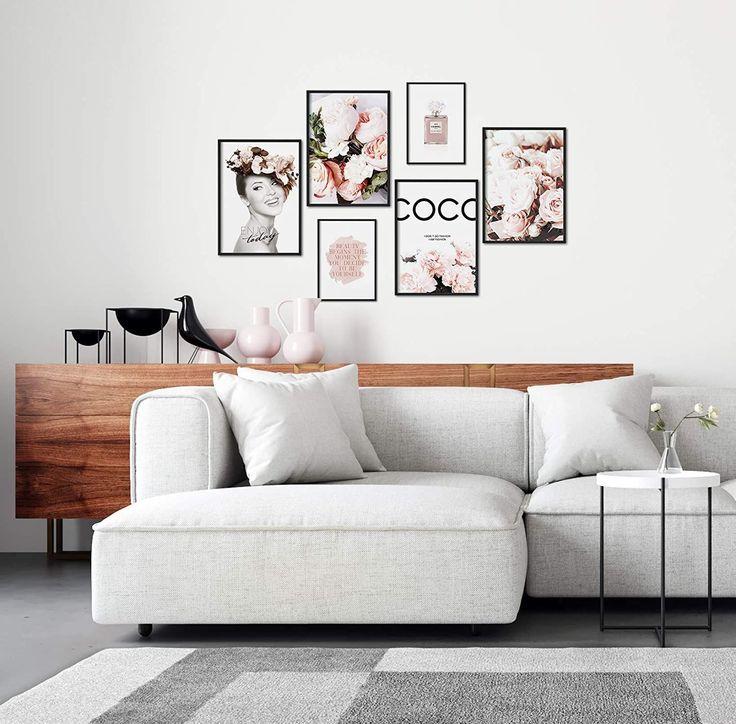 Bilderwand Wohnzimmer