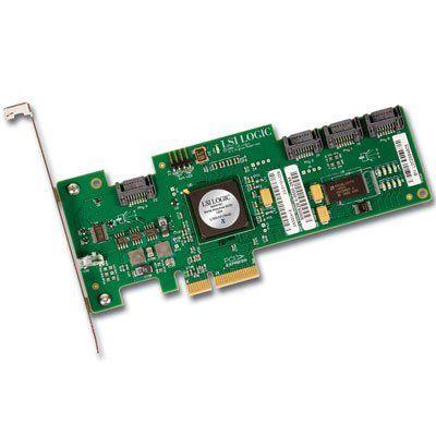 LSI LOGIC LSI00168 sas3041e-r raid 4-port 3gb/s sas/sata pci express rohs6 by LSI Logic. $156.24