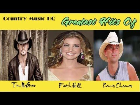 Country Music HQ - Greatest Hits Of Tim McGraw, Faith Hill, Kenny Chesney - YouTube