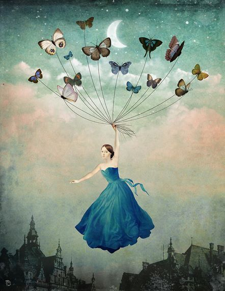 98 Best Images About Butterfly Woman Art On Pinterest