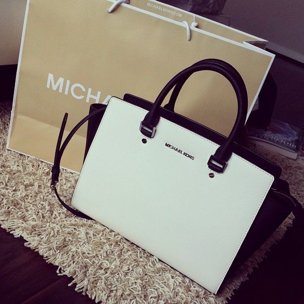 Our Michael Kors Selma Top-Zip Large White Satchels Store Is Waiitng For You In 24/7! #trends-cheap designer handbags-Discount michael kors bags!!Must remember this!