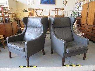 borge mogensen armchairs