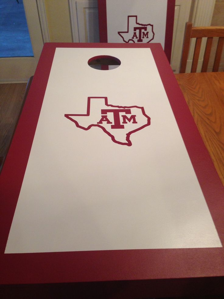 68 Best Images About Corn Hole Boards On Pinterest Texas