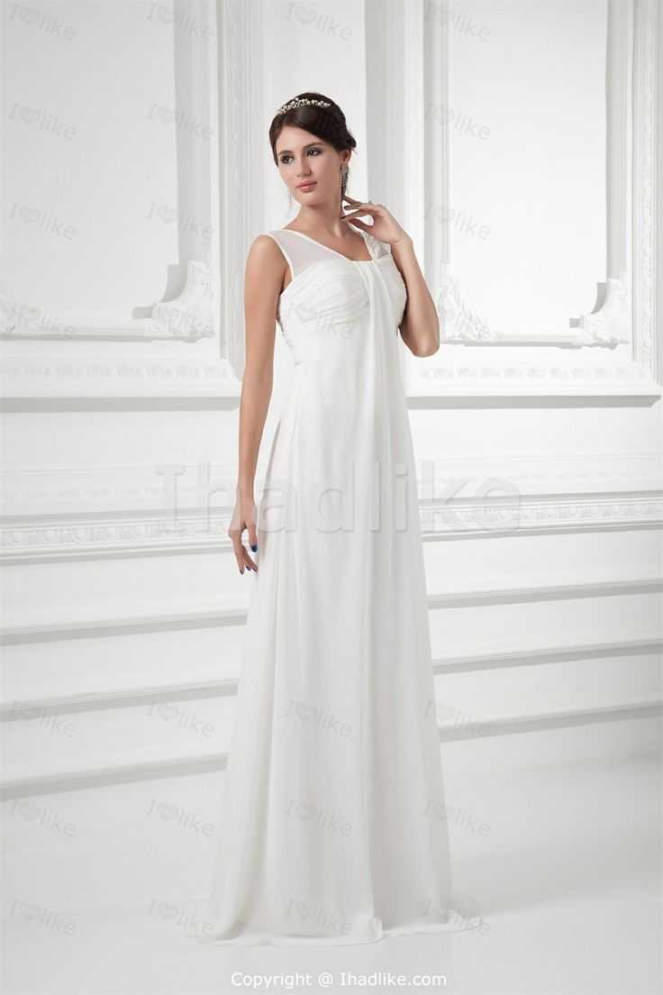 59 best white dresses images on pinterest wedding dressses white empire dresses with sleeves white sheath column empire v neck brush wedding dresses plus sizechiffon wedding dressesmaternity ombrellifo Images