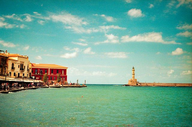 Chania Crete Greece.  Image from http://www.flickr.com/photos/frankzappatistas/6231531163/