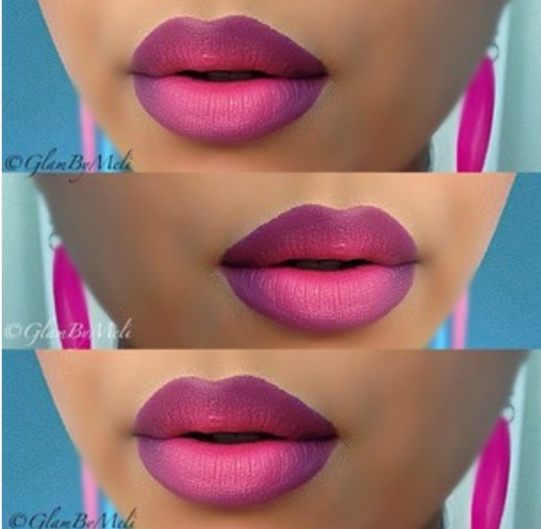 #ombre #lips