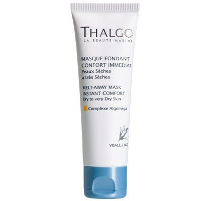 Thalgo Melt Away Mask is for dry to very dry skin - leaves the skin comfortable and fresh with a glowing complexion. As soon as it is applie...