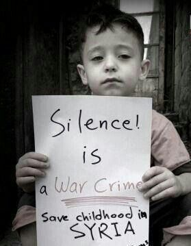 where is your humanity ? Stop silence