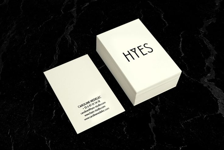 Business card by Jeff Pag