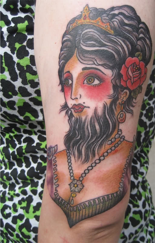17 best ideas about bearded lady costume on pinterest for Tattoo freak costume