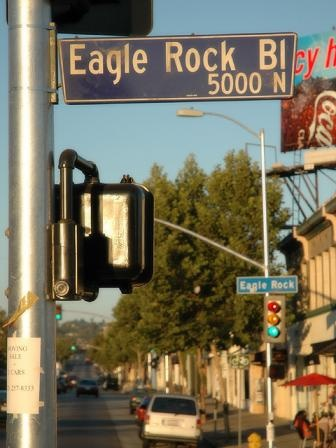 Eagle Rock, CA (California) - Intersection of Eagle Rock Bl and Colorado Blvd.