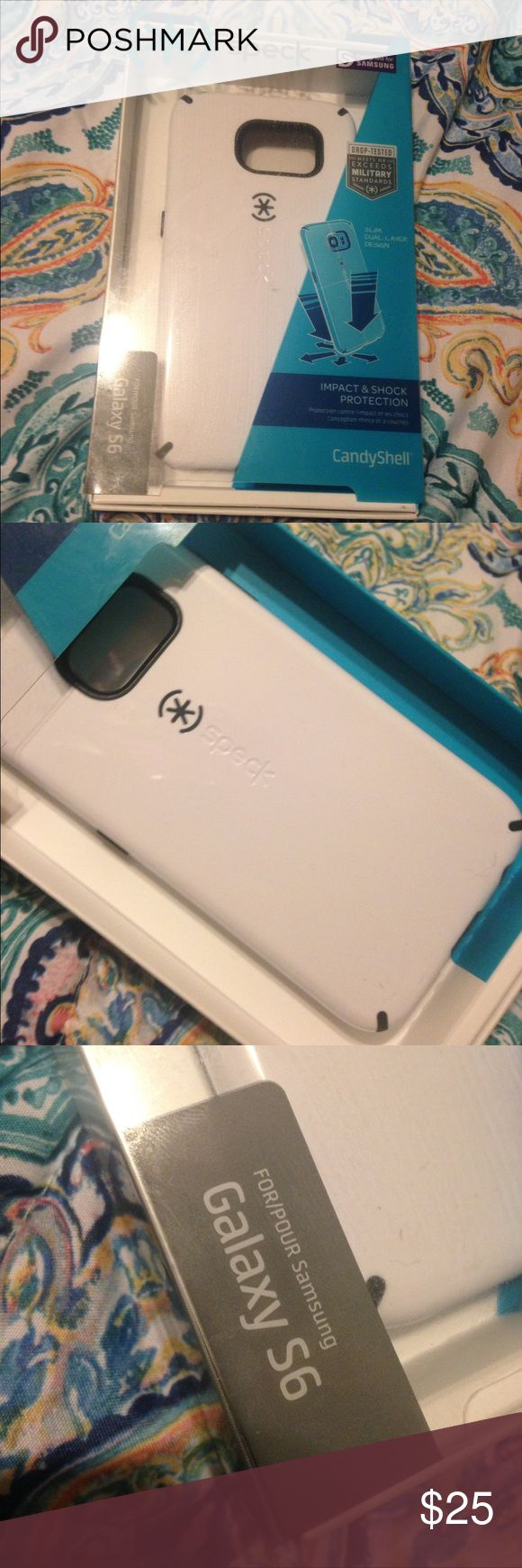 Brand New Speck case Galaxy S5 White and black speck case. Never been used comes in box. speck Accessories Phone Cases