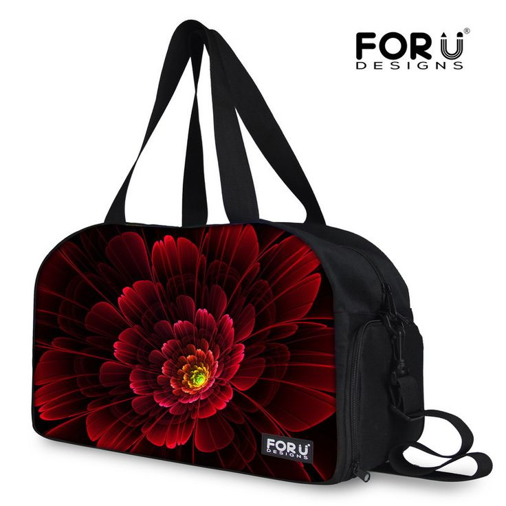 12 Colors Luggage Bags for Travel Floral Print Spanish Bags Women Large Capacity Handbag Shoulder-bag Multifunction Travel Bags