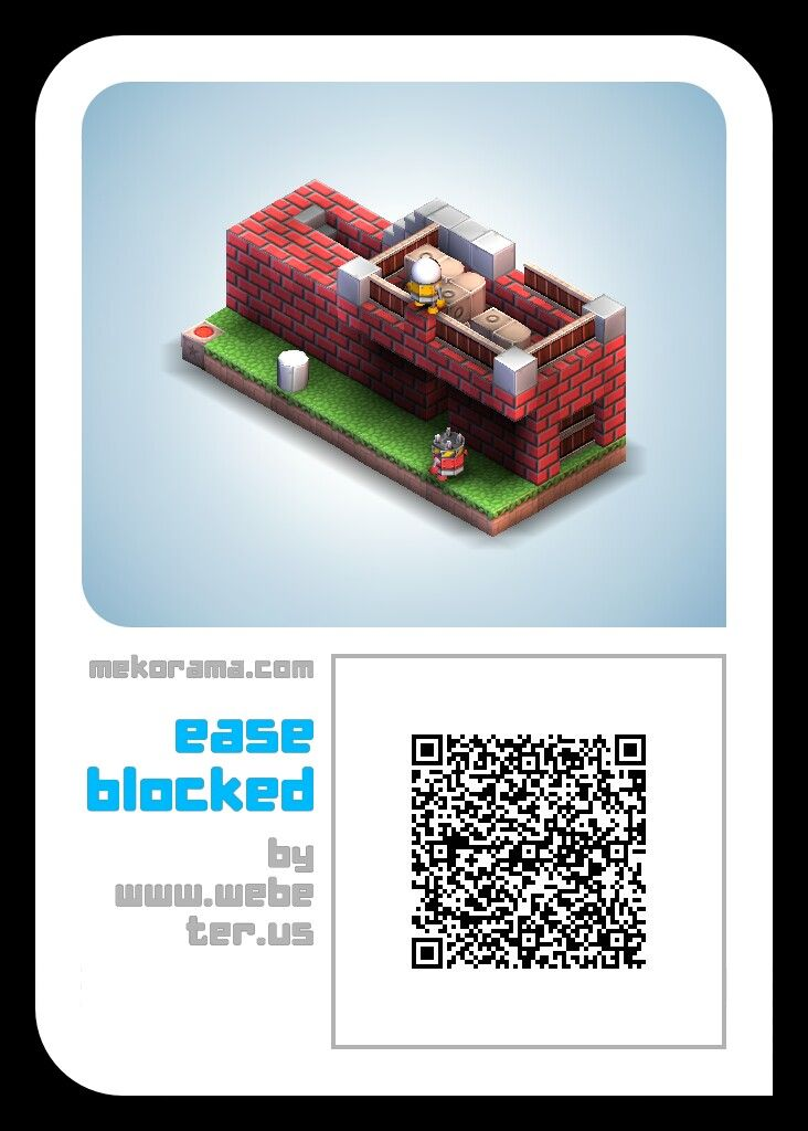 Ease blocked free #mekorama fun level