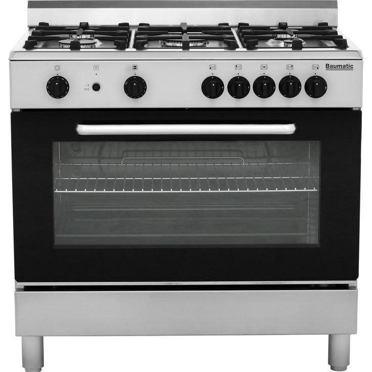 Baumatic 90cm Gas Range Cooker   BC190.2TCSS   ao.com
