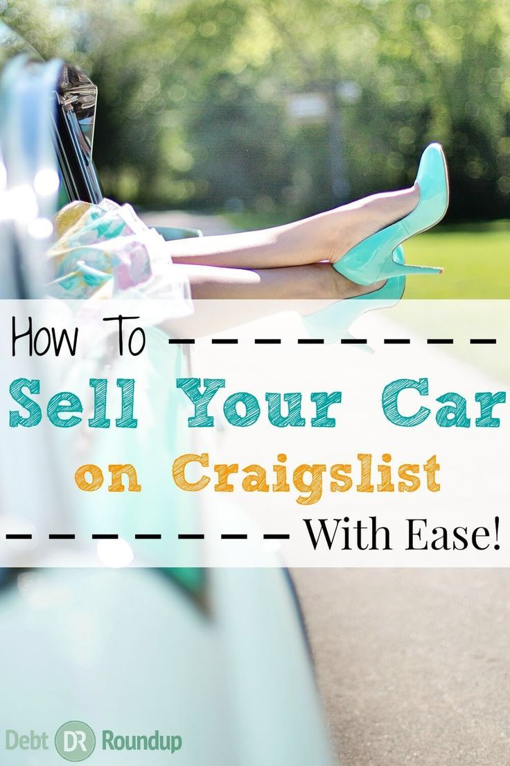 How to sell your car on craigslist quickly safely