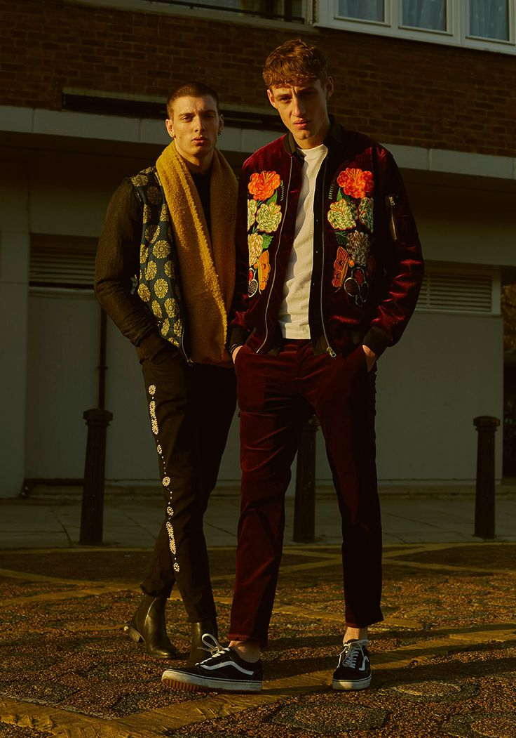 Loic and Aubrey at IMG London shot by George Naylor and styled by Kitty Cowell, in exclusive for Fucking Young! Online.