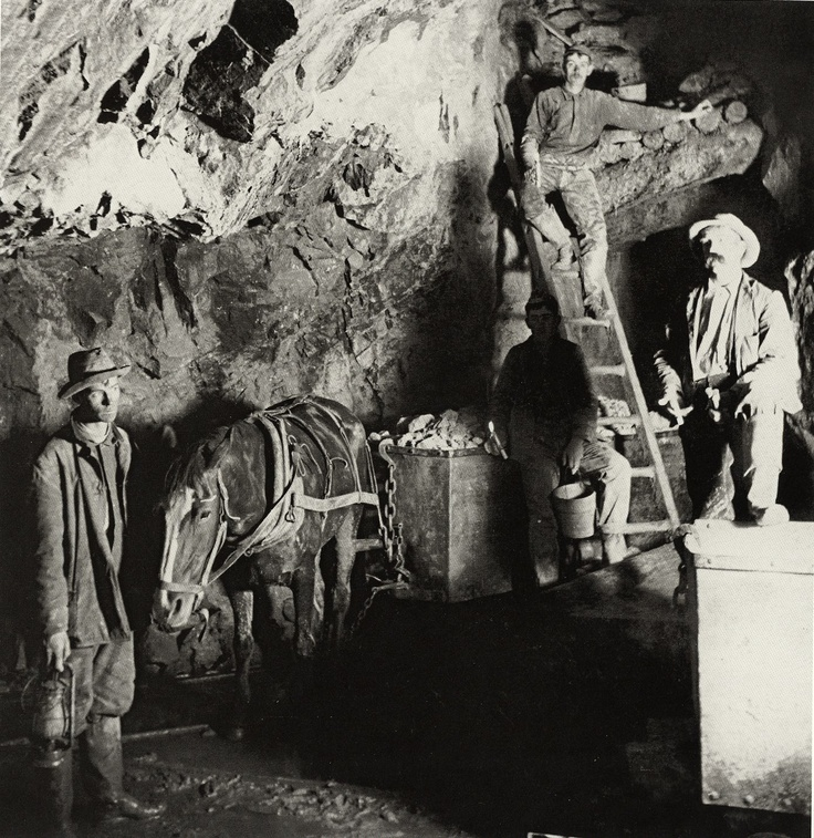 Colorado, USA, 1907. Greek coal miners.   From the Library of Congress,