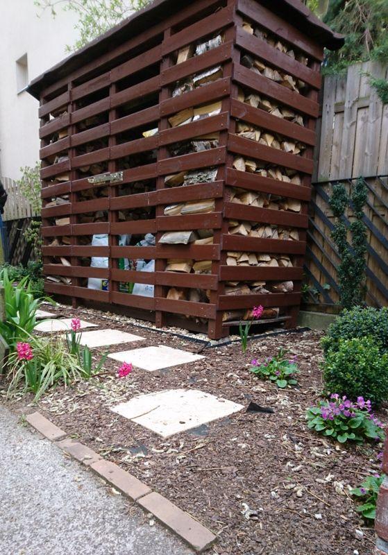 Wejście do małego ogródka