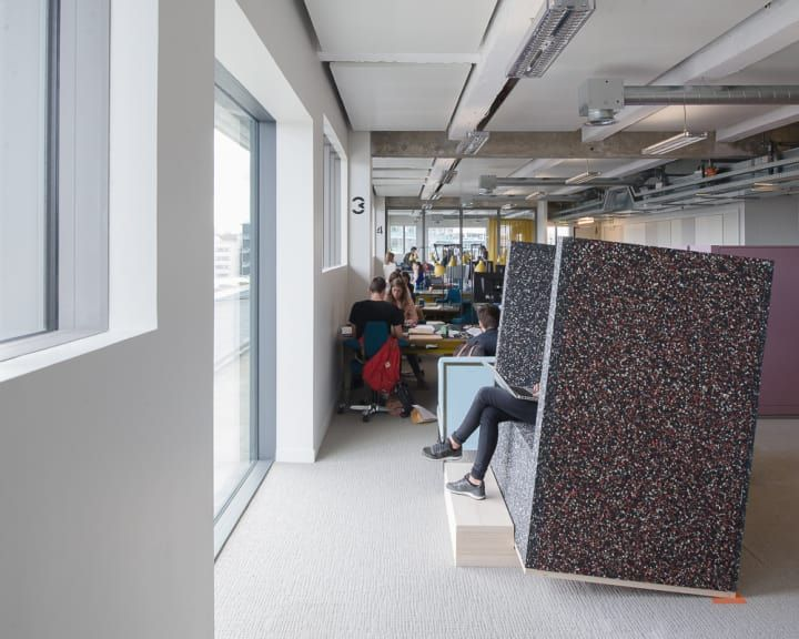 UNITS, a reflexion on workspaces for a flexoffice.