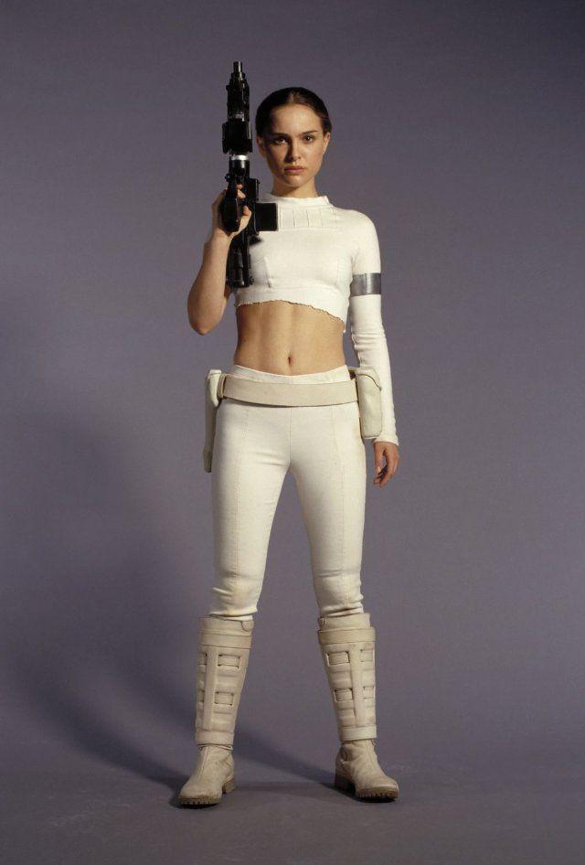 Beauty Natalie Portman in Star Wars: Episode II - Attack of the Clones
