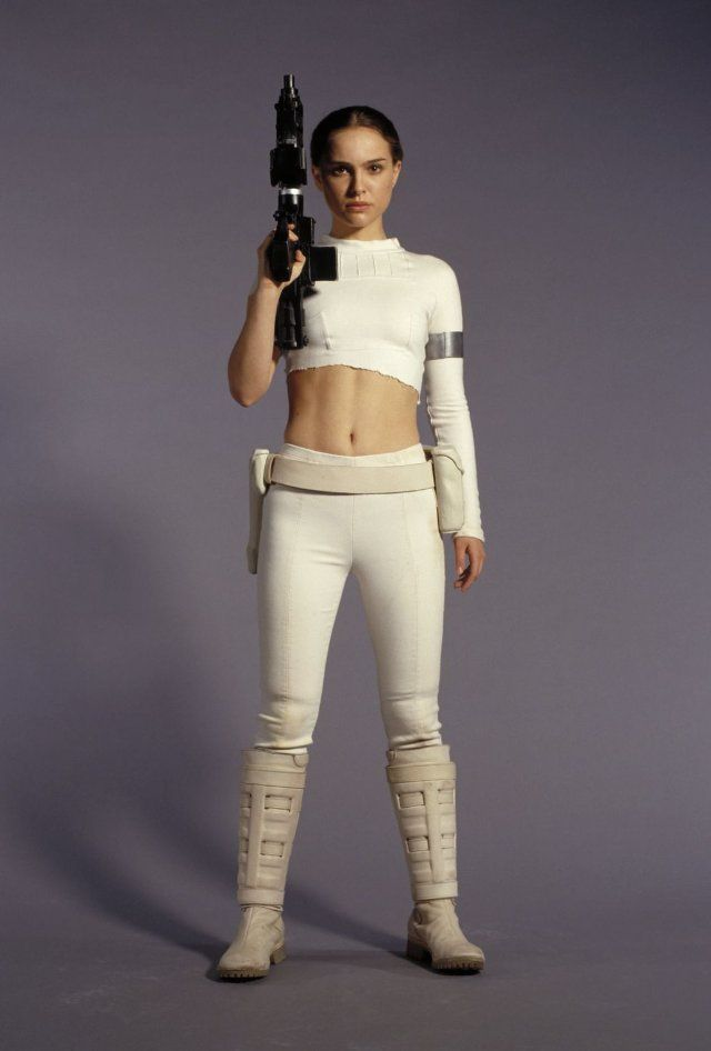 Beauty Natalie Portman in Star Wars: Episode II - Attack of the Clones