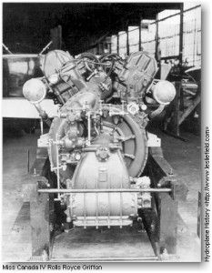 Miss Canada IV -Rolls Royce engine