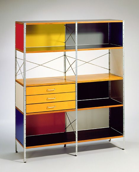 Storage unit by Charles and Ray Eames.