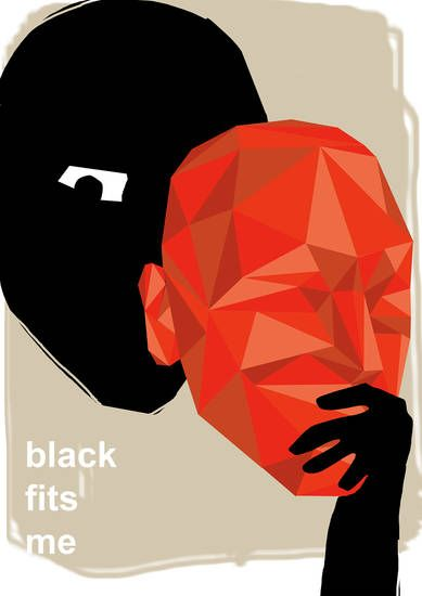 black fits me