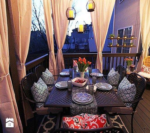 Aranżacje wnętrz - Taras: Jak urządzić balkon? - ciekawe pomysły na aranżację przestrzeni balkonowych - Taras - MartaWieclawDesign. Przeglądaj, dodawaj i zapisuj najlepsze zdjęcia, pomysły i inspiracje designerskie. W bazie mamy już prawie milion fotografii!