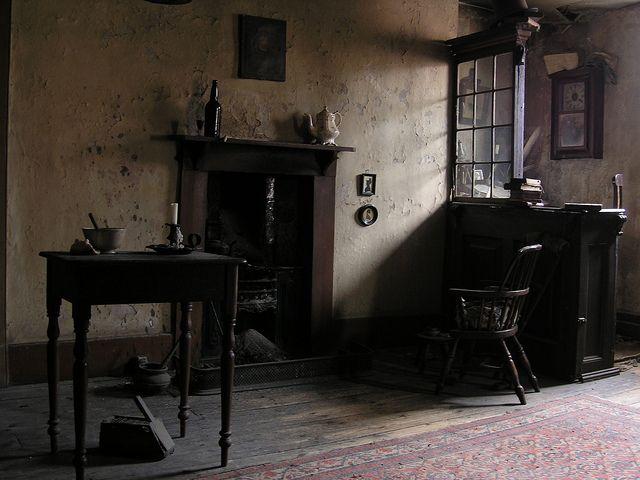 Dennis Severs' House - Dickens room