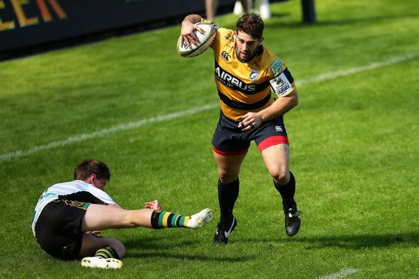 Joe Tomlinson Photos Photos - Joe Tomlinson of Cardiff during the Singha Premiership Rugby 7s Series Final between Cardiff Blues and Northampton Saints at Ricoh Arena on August 7, 2016 in Coventry, England. - Singha Premiership Rugby 7s Series Final