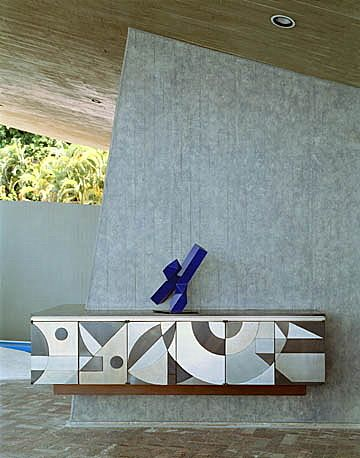 House for Mr and Mrs Jeronimo Arango, Acapulco, 1973. Arango residence. Architect John Lautner.