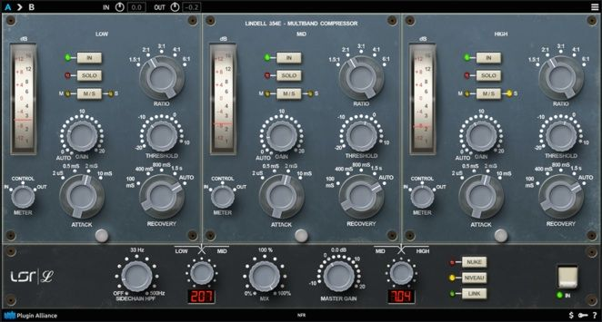 New Plugin Review: Lindell Audio 354E Multiband Compressor/Limiter