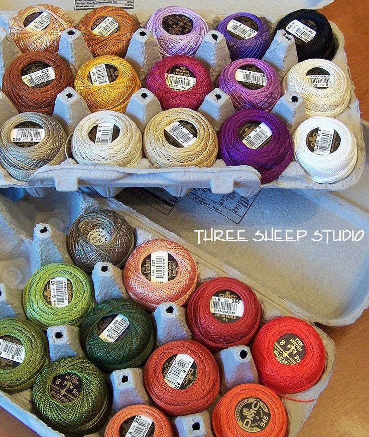 Perle Cotton - Three Sheep Studio