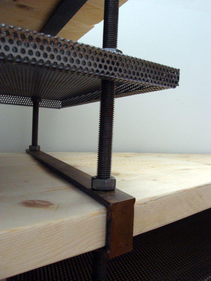 mesa triangular - detail