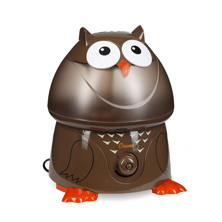 Crane Ultrasonic Cool Mist 1-Gallon Humidifier, Owl from Crane - The Bump Baby Registry Catalog