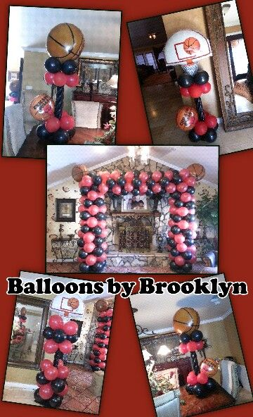 Chicago chicago bulls and balloons on pinterest for Balloon decoration chicago