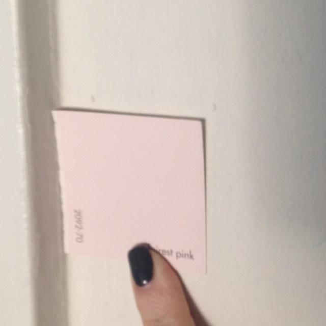 Benjamin Moore Quot Fairest Pink Quot Caroline S Room In 2019