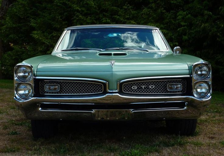 1967 Pontiac GTO - Such a Classic! Someday one of these will be in my Garage!