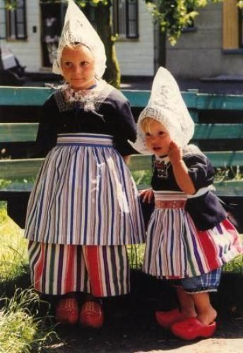 Girls in traditional Dutch clothing by Bettine1986, via Flickr I so want a traditional Dutch outfit!!