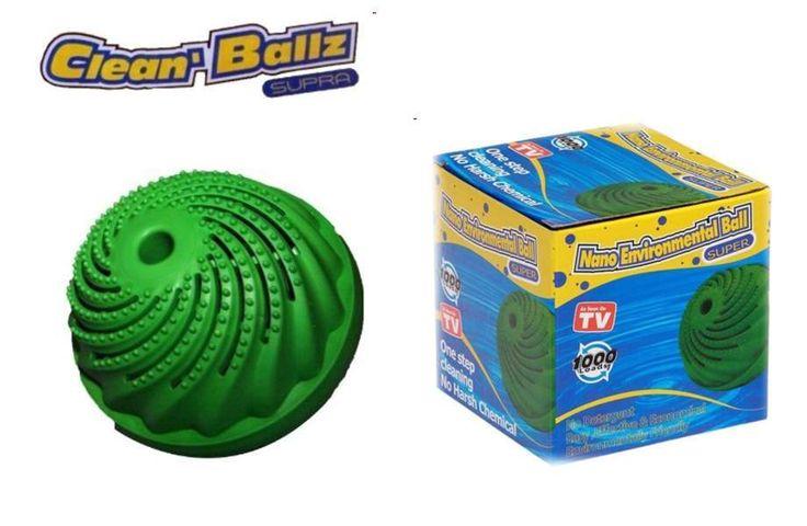 CLEAN BALLZ adalah bola pencuci ajaib hasil inovasi terbaru dari teknologi Jerman/CLEAN BALLZ akan menarik makromolekul padat yang menempel pada kain, sehingga secara perlahan akan membersihkan noda pada pakaian/harga 50rb